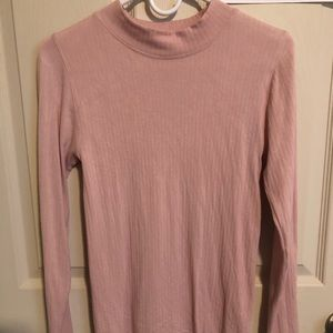 Pale Pink Fitted Sweater